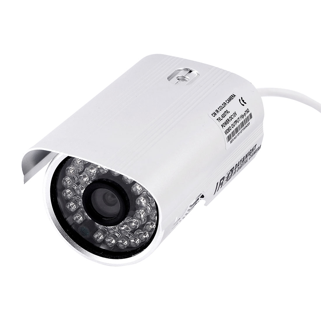 "420TVL 1/4"" Sharp CCD PAL 36-LED IR Infrared CCTV Security Color Camera"