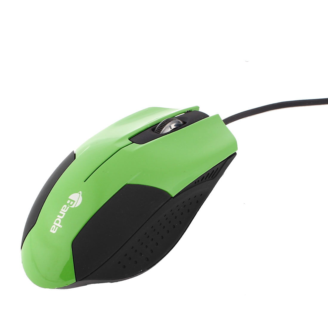 PC Computer Black Green Red LED USB 1200DPI 3D Optical Mouse