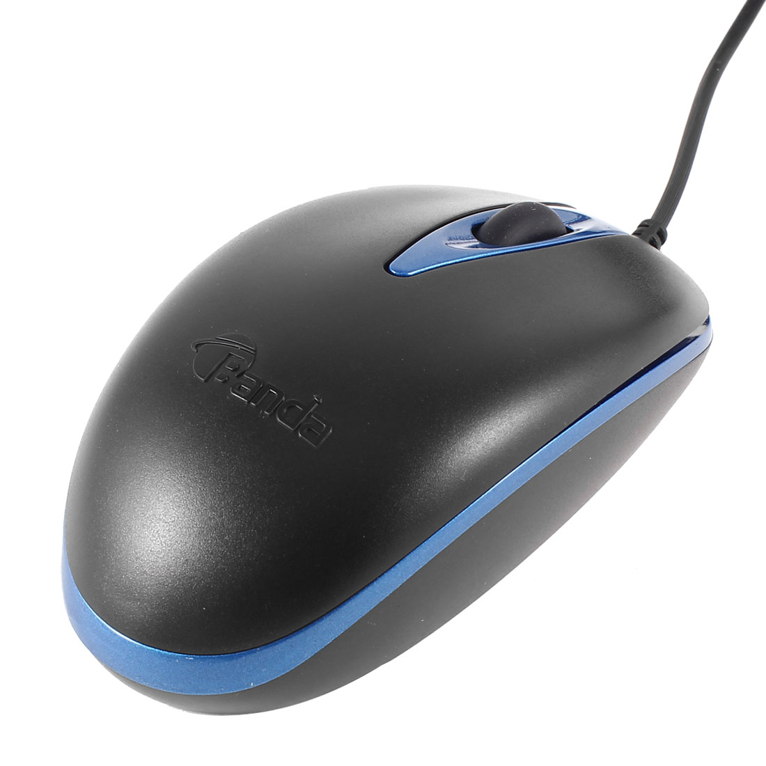 Red LED Light Lamp USB 1200DPI 3D Optical Mouse Black Blue for Desktop