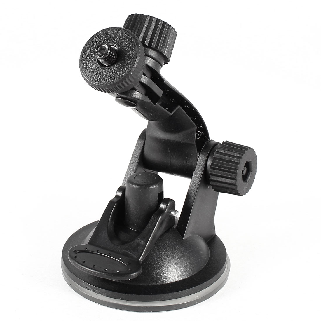 Adjustable Angle Suction Cup Car Windshield Camera Mount Bracket Black