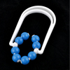Women Blue White Plastic Body Leg Massaging Roller Massager