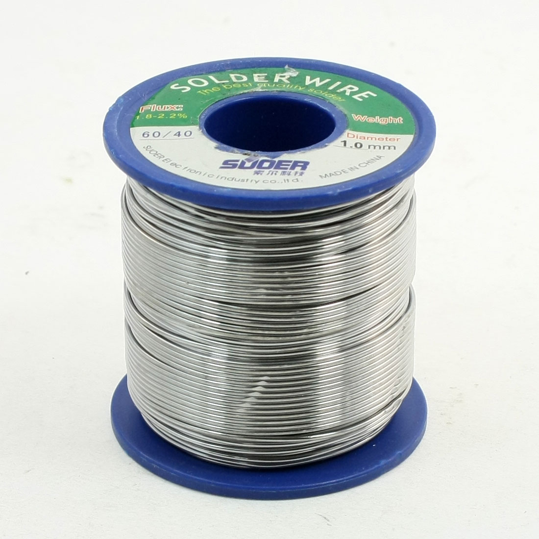 1.0mm 400g 60/40 Rosin Core Flux 1.8-2.2% Tin Lead Roll Soldering Solder Wire