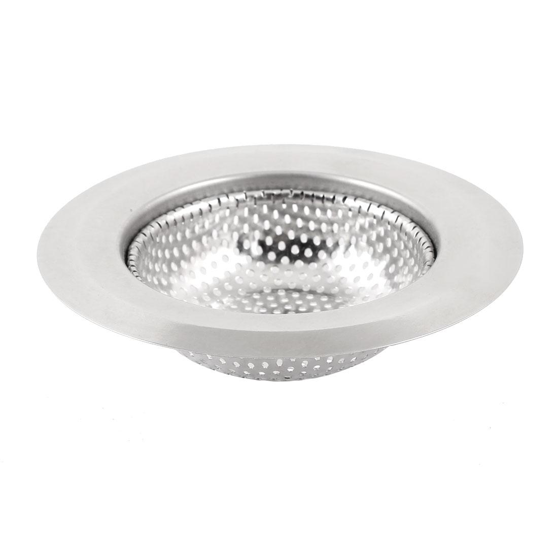 "Washroom 4.3"" Diameter Stainless Steel Basin Filter Sink Drainer Strainer"