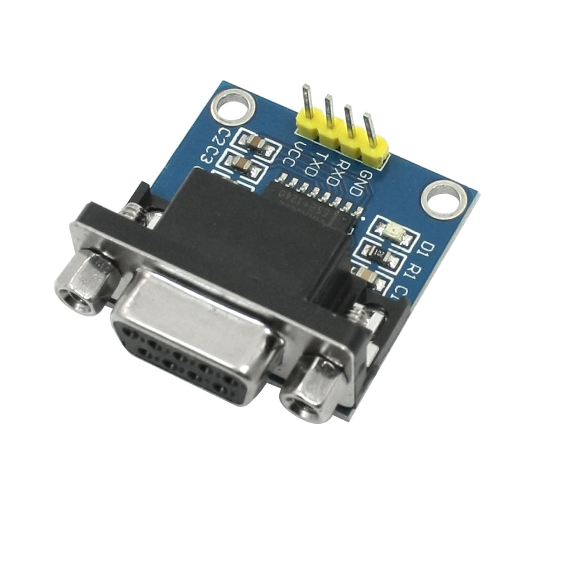 RS232 Serial Port to TTL Converter Communication Module for MCU