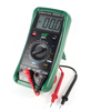 Green Shell DC Voltmeter Ammeter Ohmmeter Digital Automotive Tester Multimeter