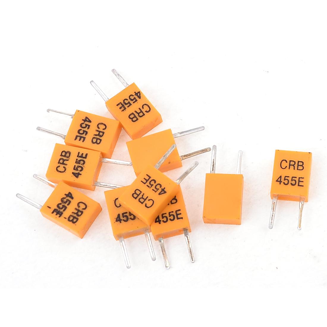 455KHz CRB 455E DIP-2 TV Remote Control Ceramic Resonator 10 Pcs