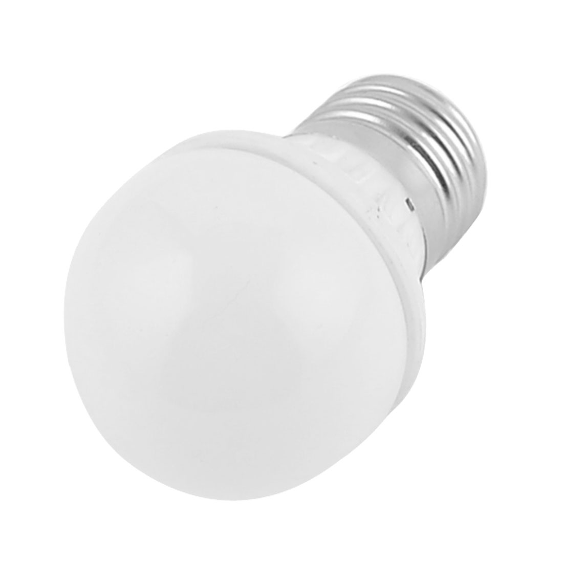 "Home E27 4W Energy Saving LED Ball Bulb White Light Lamp 1.8"" Dia"