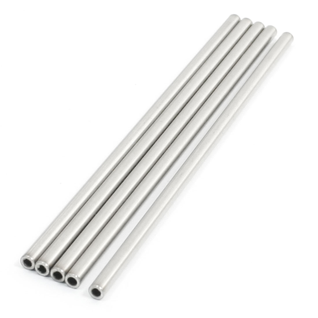 100mm x 3mm x 2mm Stainless Steel Ground Shaft Stock Round Rod 5Pcs