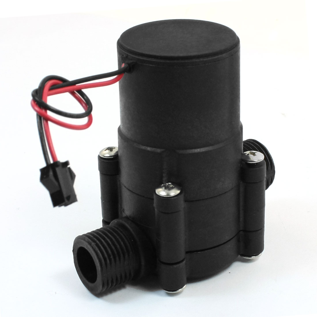 DC 12V 20mm Male Thread Portable Pipeline Water-power Mini Generator