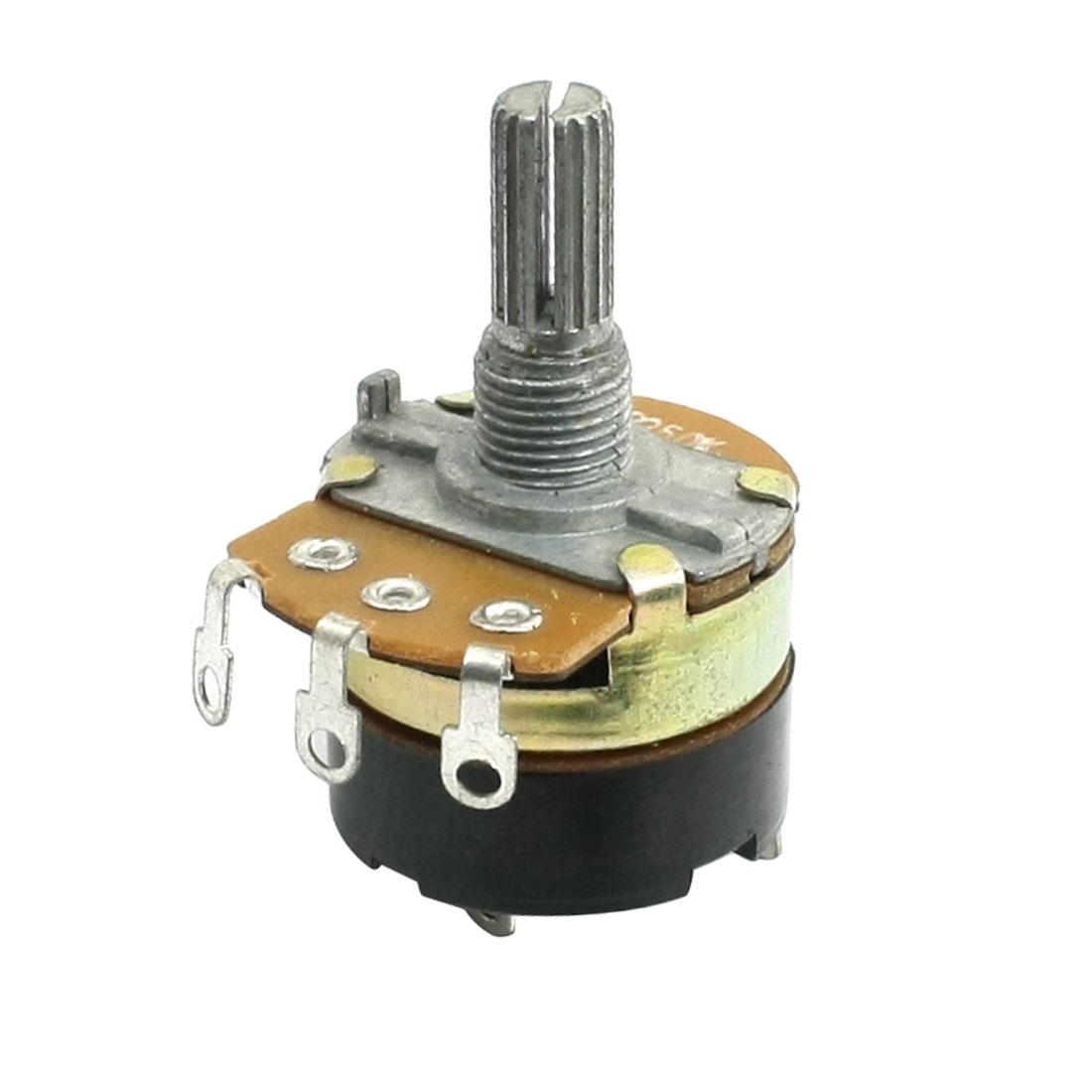 Single Linear Electric Carbon Rotary Potentiometer B250K 250K Ohm