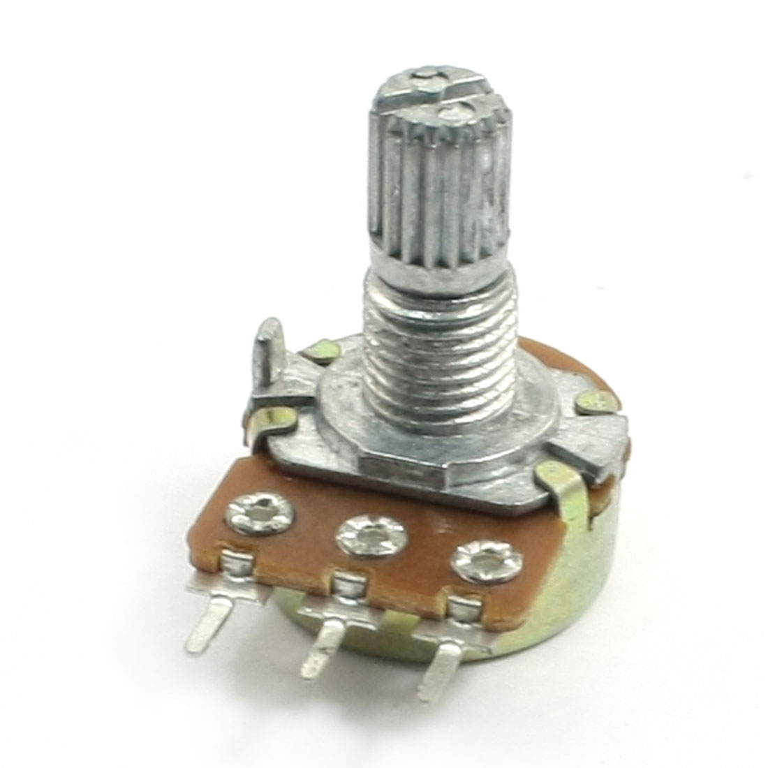 A10K 10K Ohm 6mm Split Shaft Single Turn Rotary Taper Potentiometer