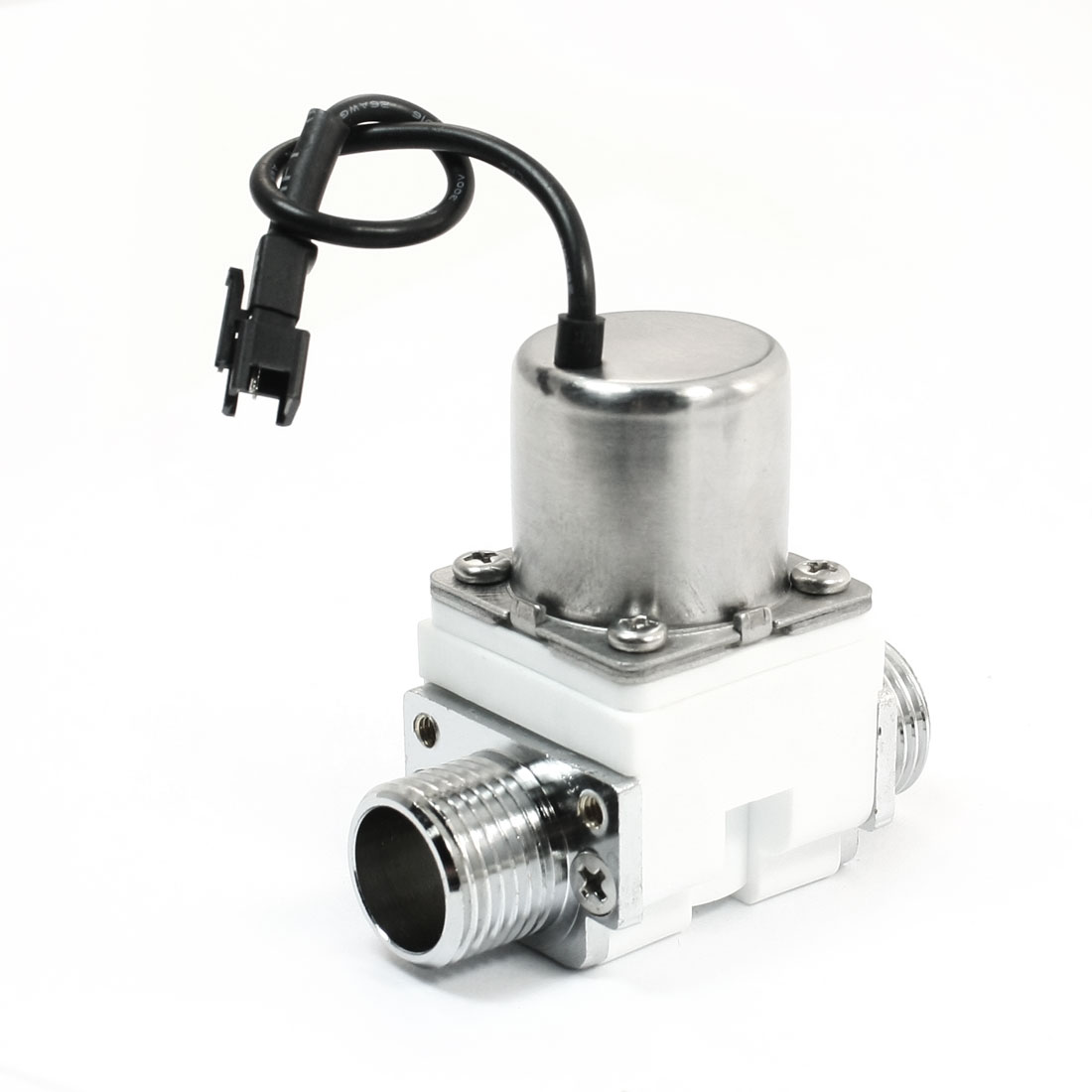 Induction Sanitary Fittings Electromagnet Water Inlet Solenoid Valve DC 12V
