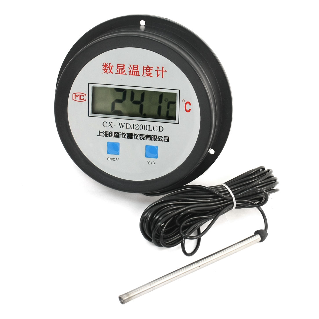 LCD Display -50-200C Temperature Measurement Probe Digital Thermometer