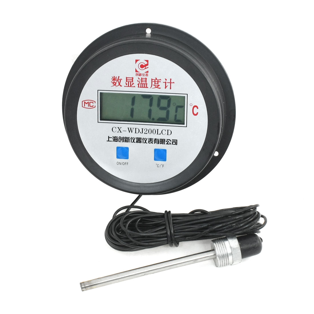 10meters Cable -50-200C Waterproof Temp Tester Digital Thermometer