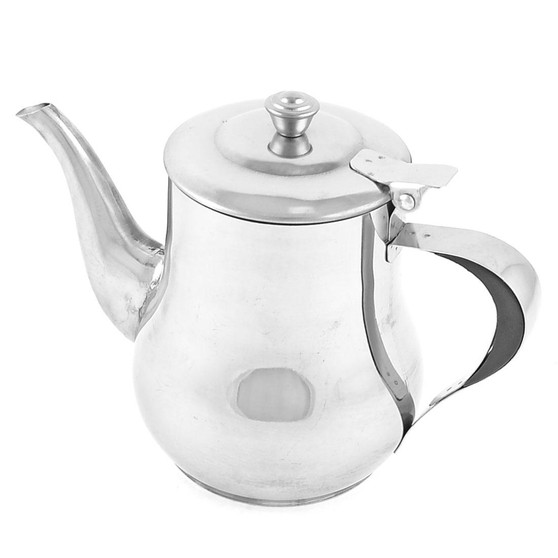 Pitcher Shape Stainless Steel 18oz 420ml Tea Pot Water Kettle Bottle