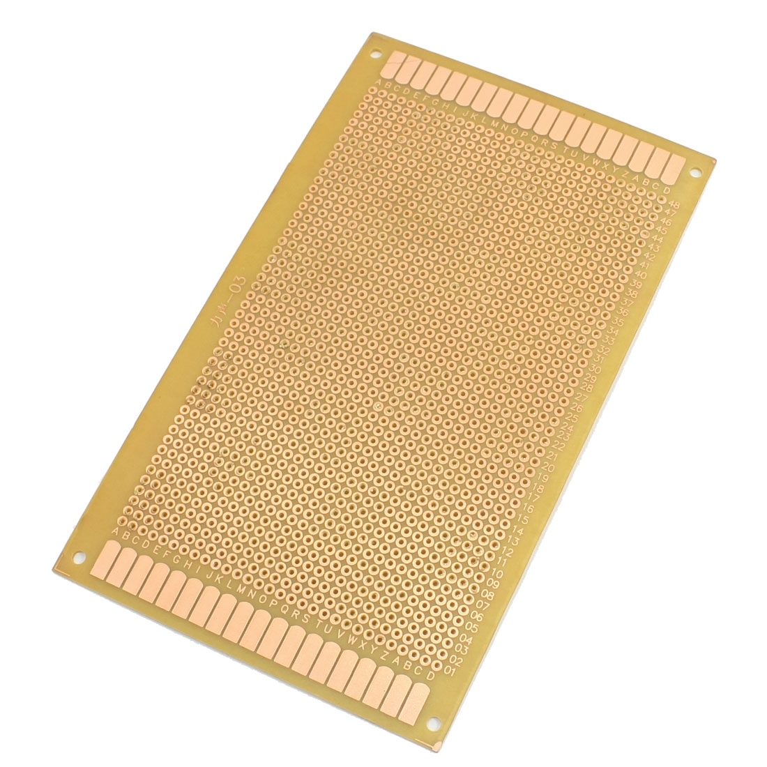 Electrical Prototyping Single Side Universal PCB Breadboard Stripboard 9cmx15cm