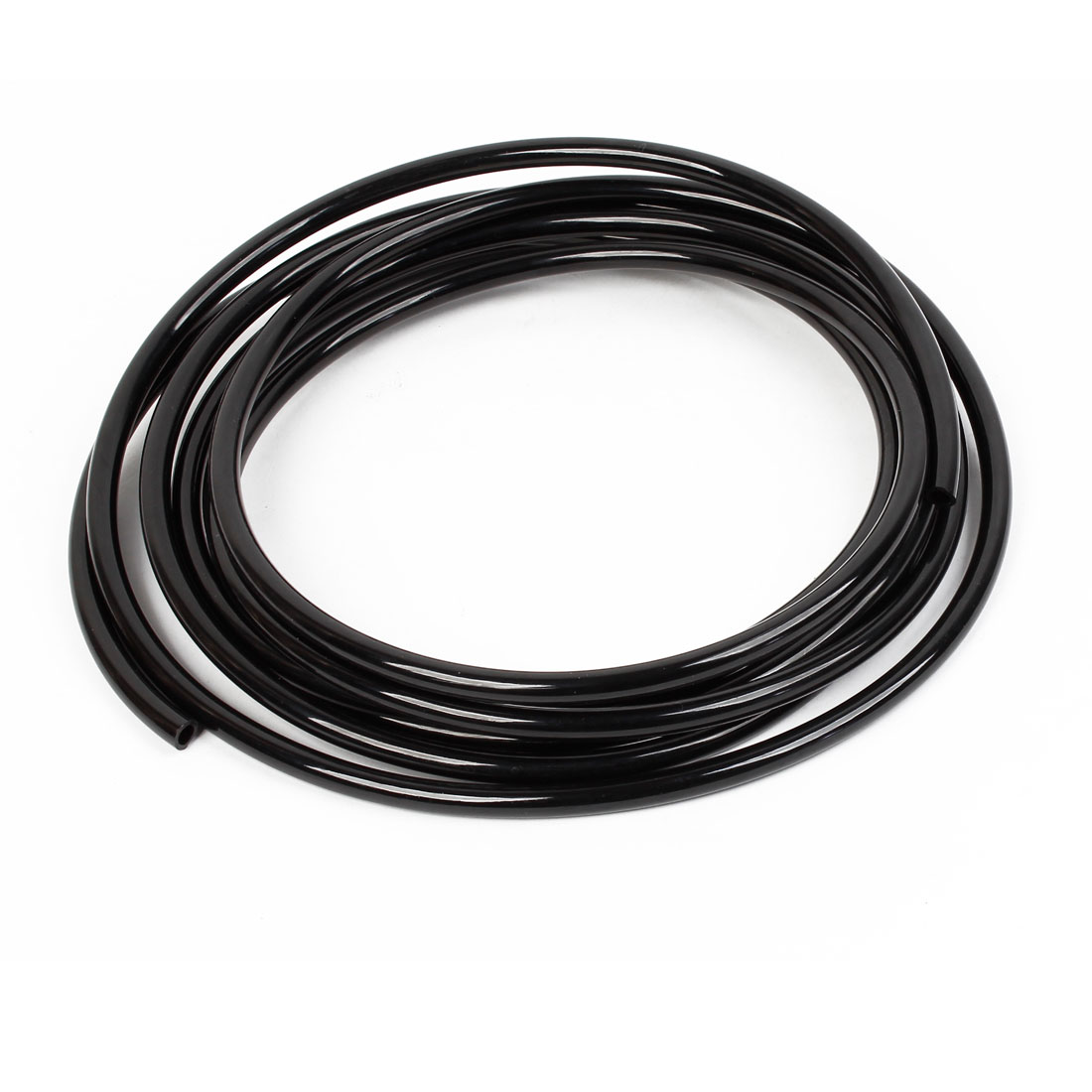 5 Meter 16.4Ft 10 x 6.5mm Pneumatic Air PU Hose Pipe Tube Black