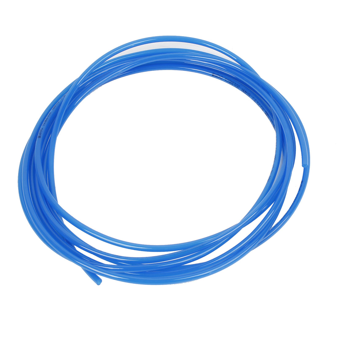 5 Meter 16.4Ft 6 x 4mm Pneumatic Air PU Hose Pipe Tube Blue