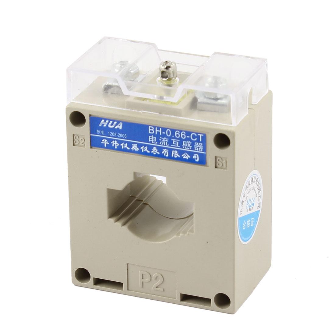 2.5VA Rated Load 20/5 Ratio Current Transformer 0.66KV BH-0.66-CT