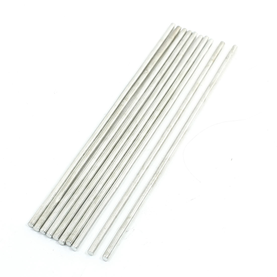 10Pcs 150 x 3mm Stainless Steel Cylinder Linear Rail Round Rod Shaft