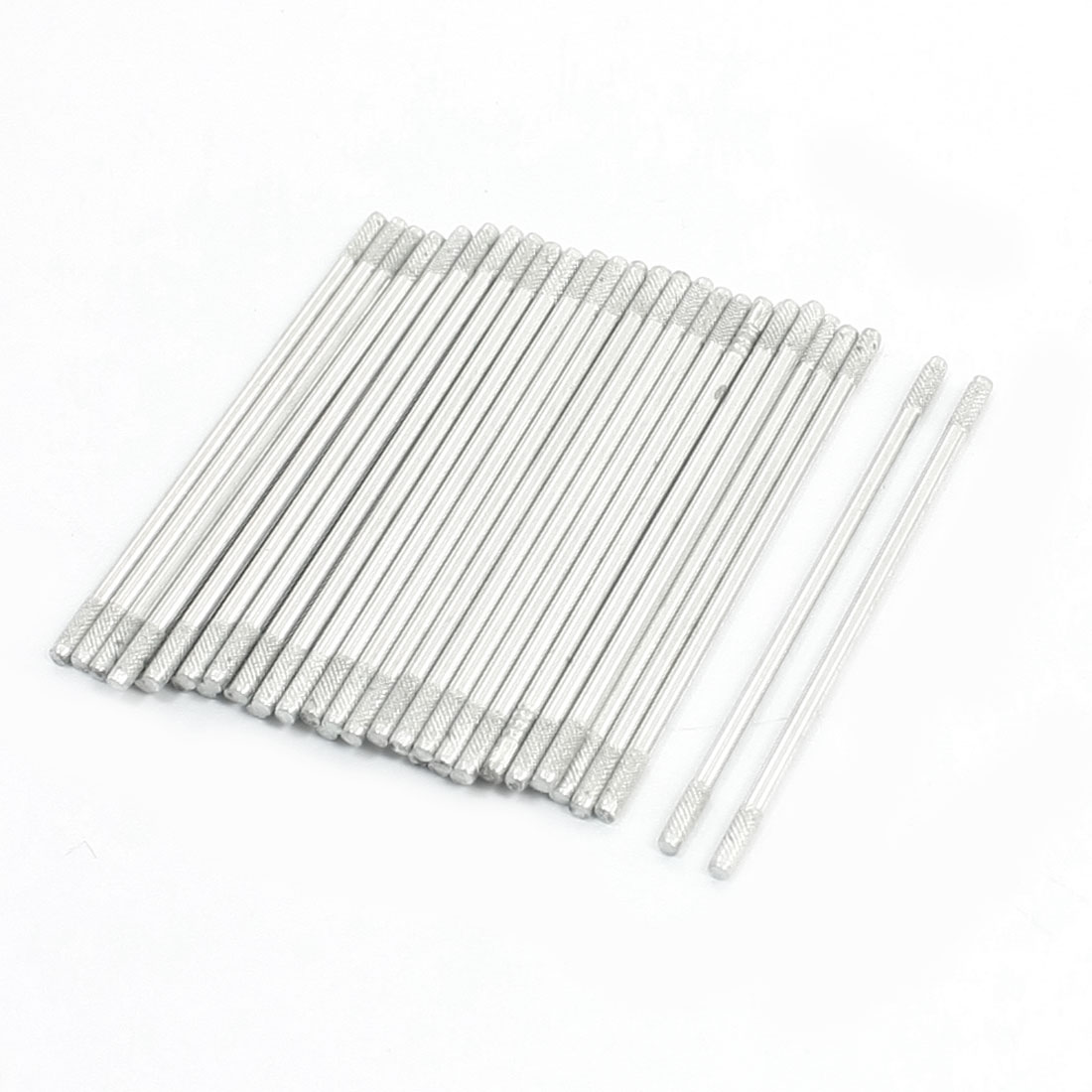 40PCS RC Toy Car Repairing Parts 42x1.5mm Stainless Steel Round Rod