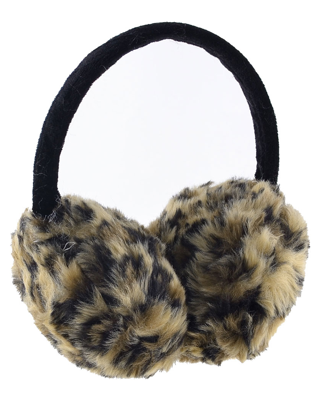 Leopard Pattern 3 Color Ear Winter Warmer Round Earmuffs for Lady Man