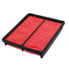 Auto Car Black Red Air Filter Element Panel Cleaner JE15-13-Z40