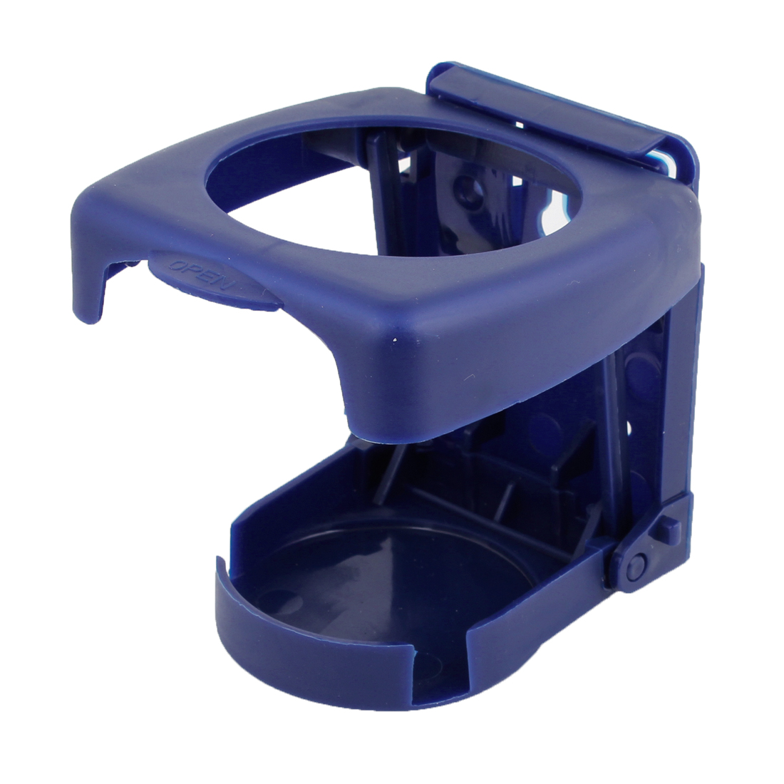 Truck Car Vehicle Folding Beverage Bottle Can Drink Cup Holder Stand Blue