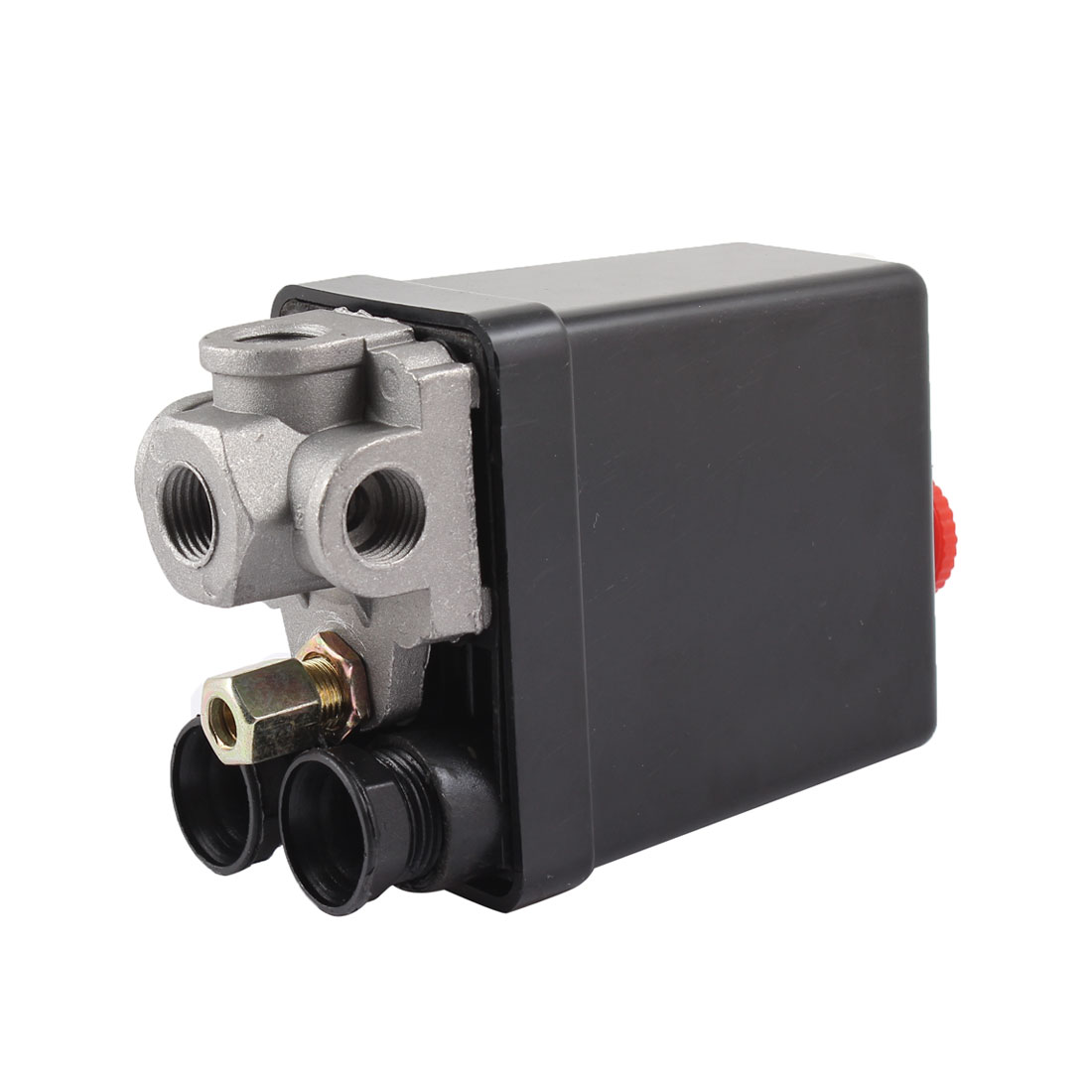 Air Compressor Pump Pressure Switch Control Valve 175PSI 20Amp 4 Ports