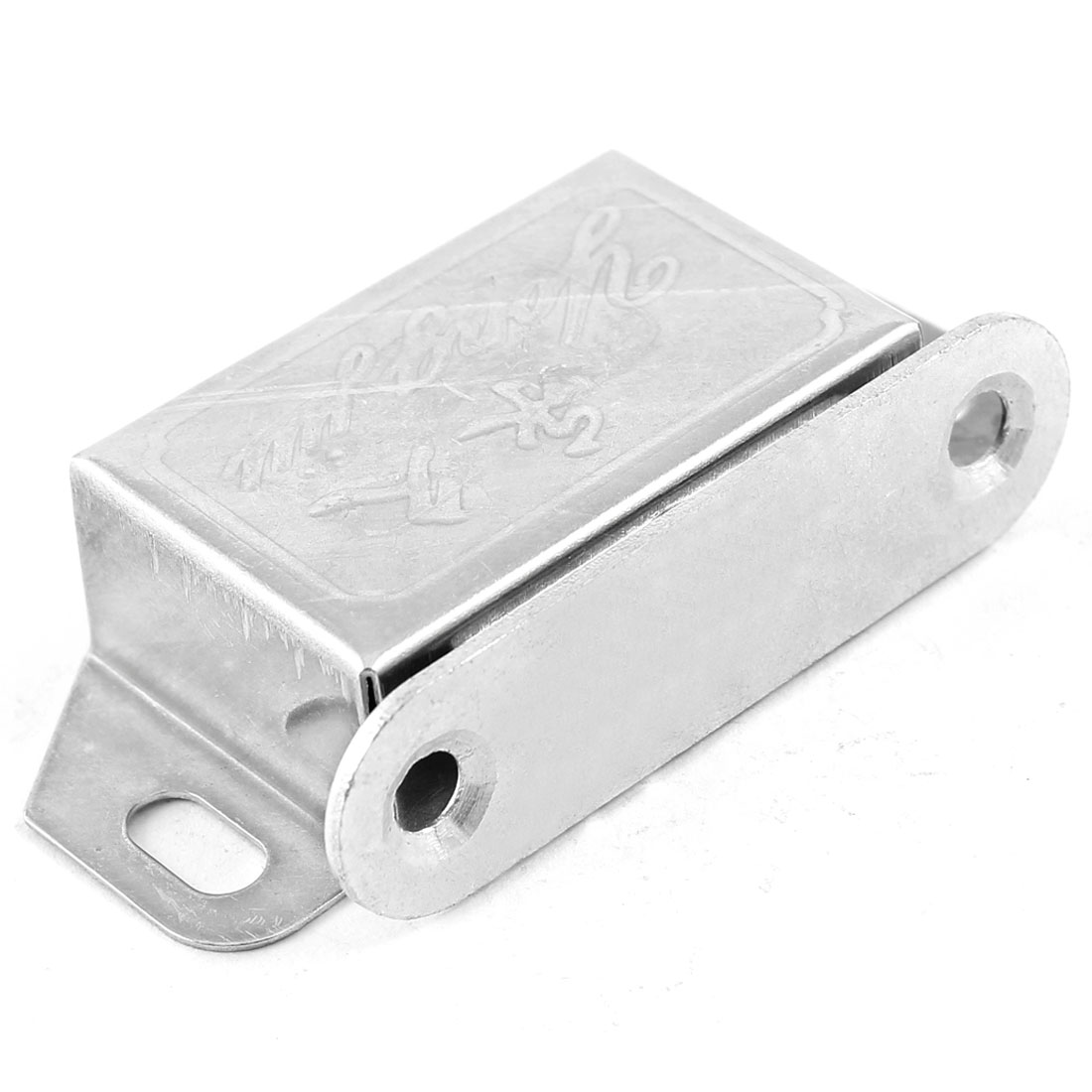 55mm Silver Tone Stainless Steel Cabinet Door Magnetic Catch Latch