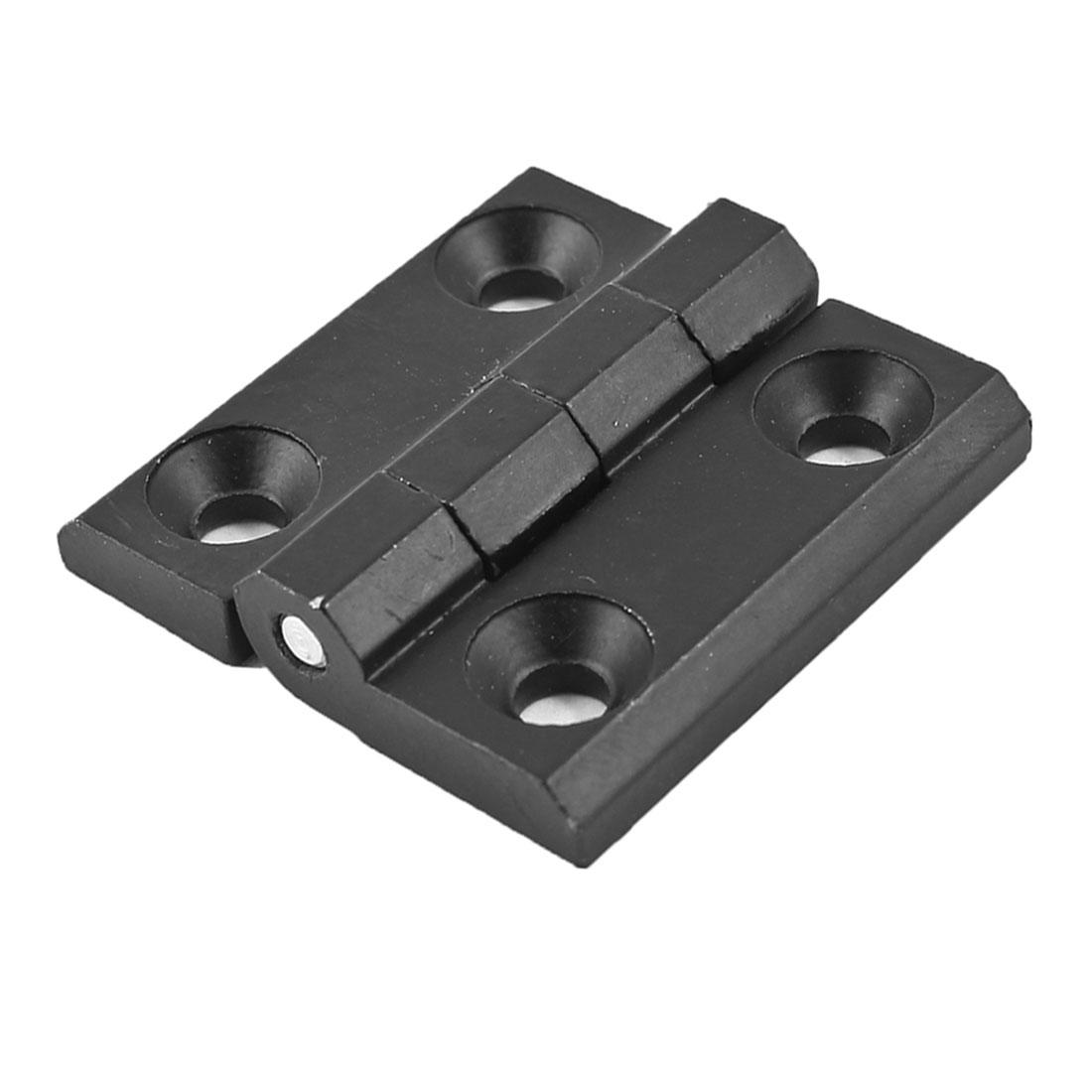 40mm x 40mm Two Leaves Metal Bearing Hinge Black for Door