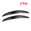Vehicle Car Decorative Wheel Arch Eyebrow Strip Decoration Black 2pcs