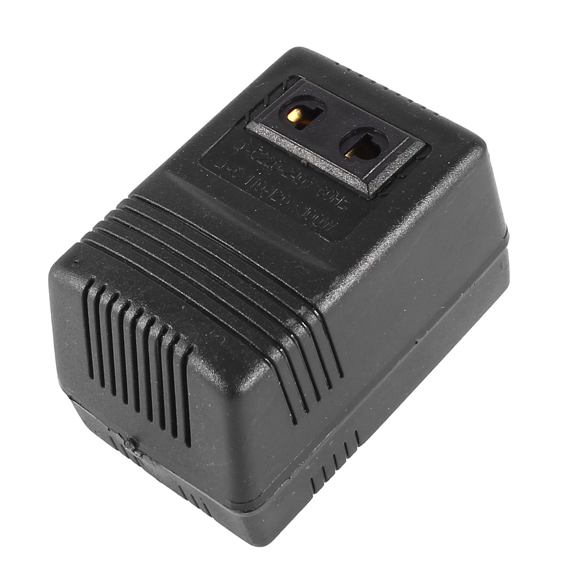 US Plug AC 220-240V to 110-120V Voltage Converter Transformer Power Adapter 100W