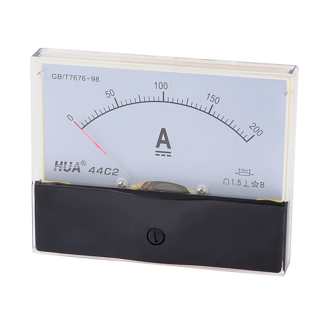 Class 1.5 Accuracy DC 0-200A Analog Ammeter Current Panel Meter Gauge
