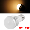 3Watt E27 Warm White LED Light High Power Lamp AC 85-265V