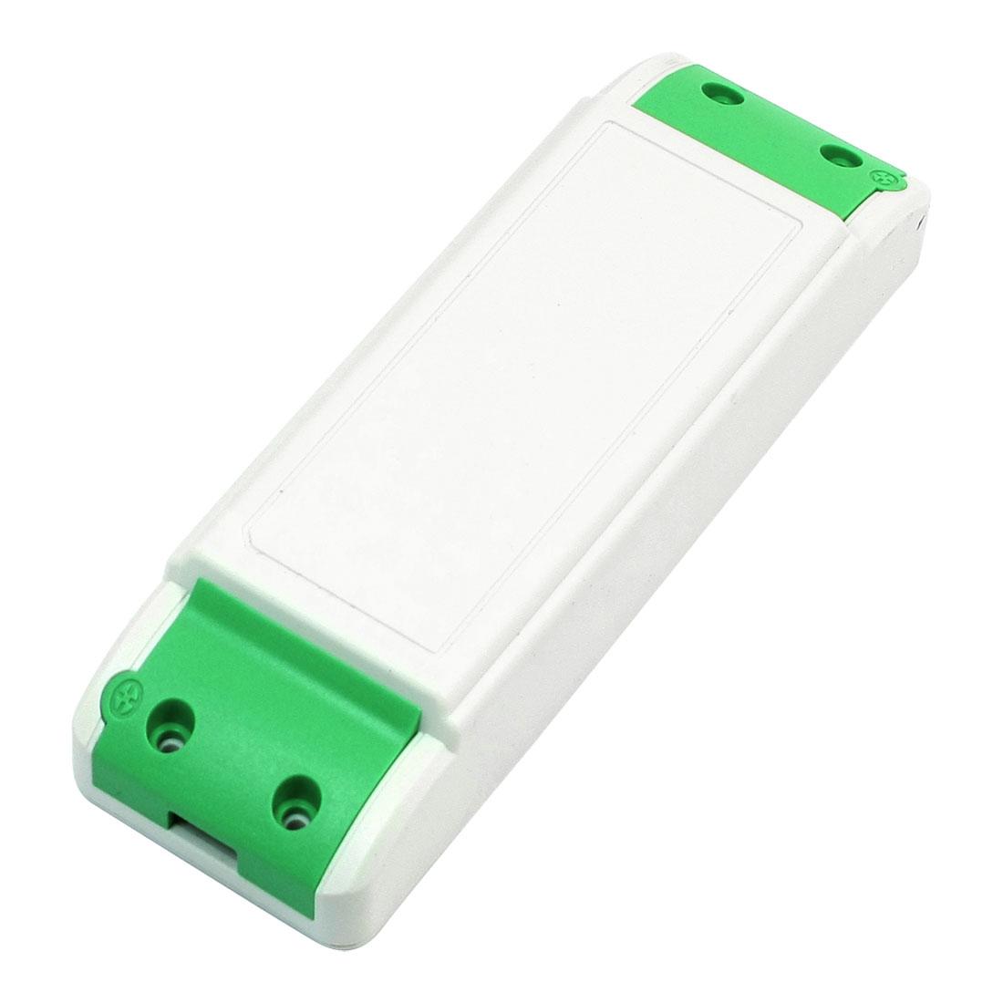 LED Driver Power Supply Plastic Shell Junction Box 140mm x 45mm x 28mm