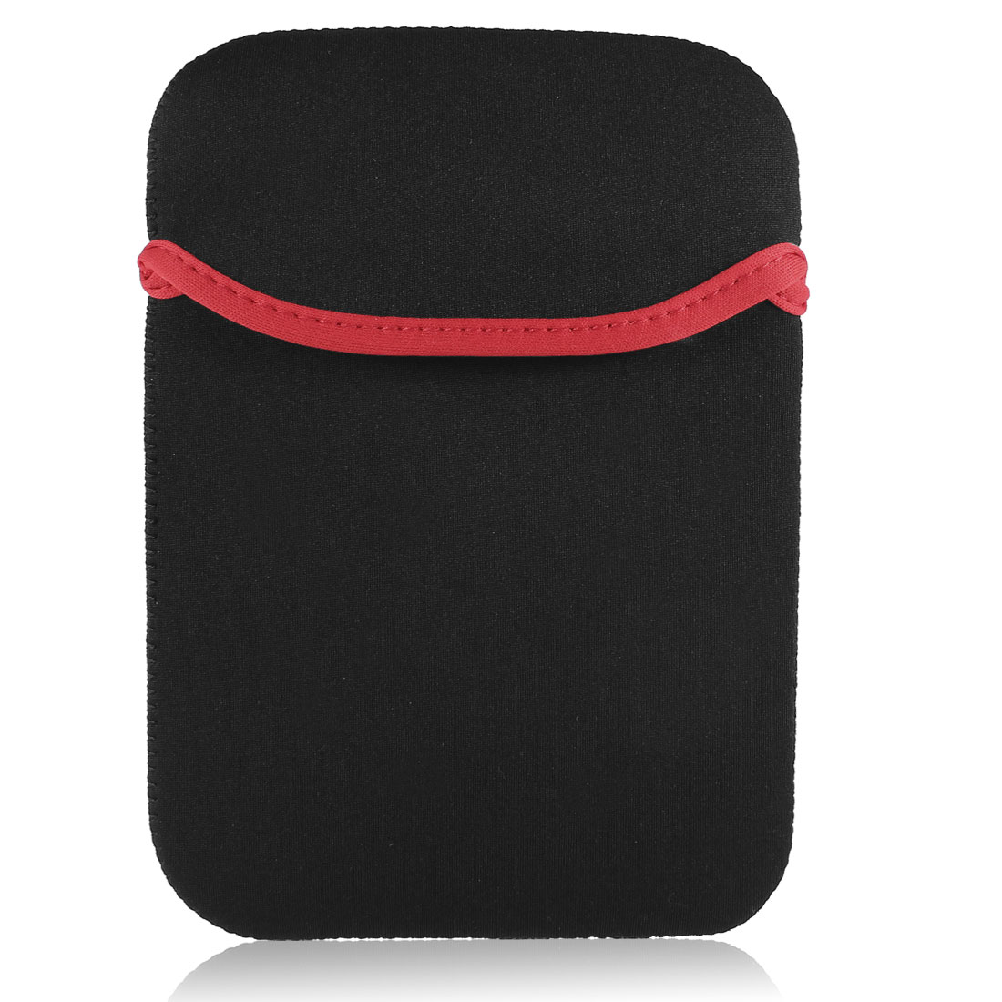 "Red Black Neoprene 7"" Tablet Sleeve Bag for Google Nexus7 2nd"