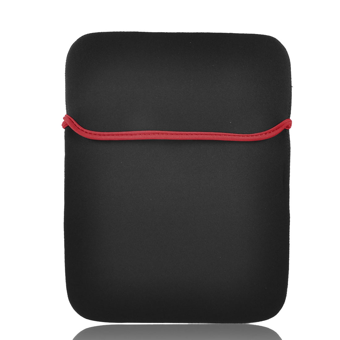 """14"""" Laptop PC Portable Pouch Sleeve Case Holder Red Black"""