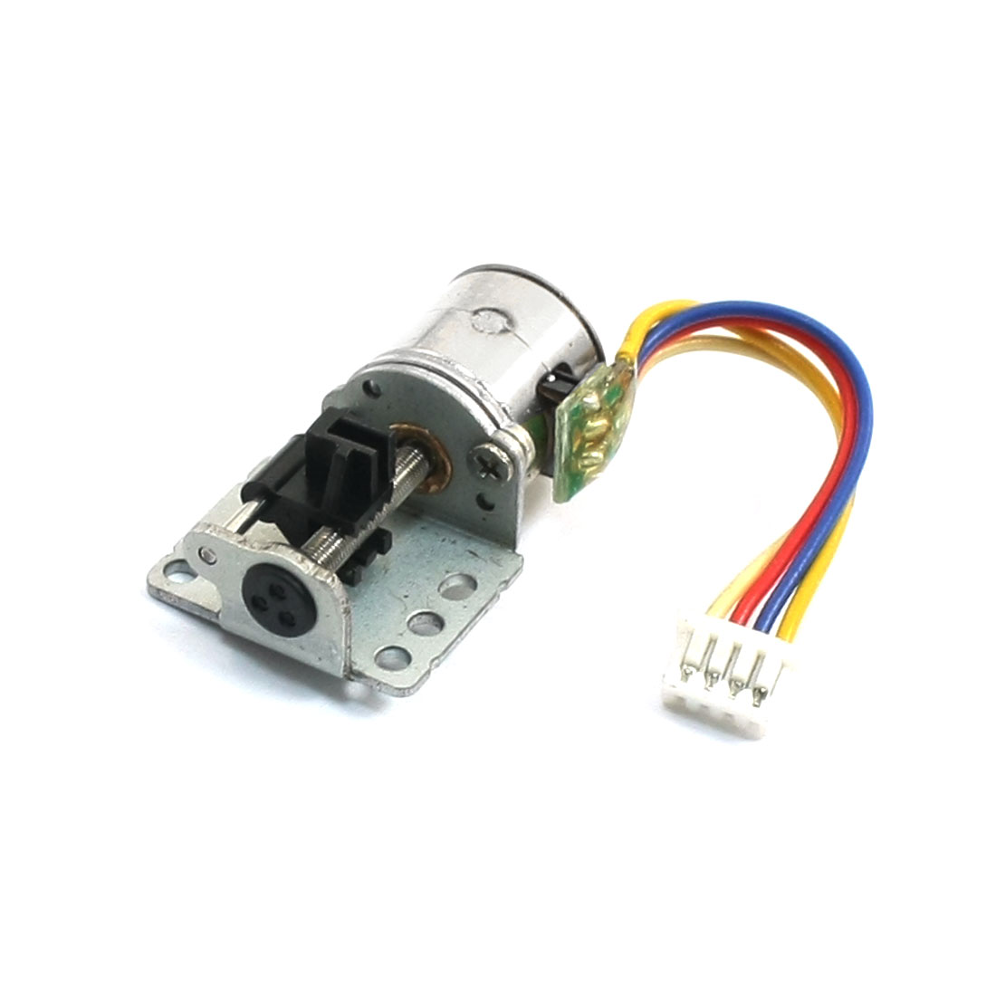 80RPM 380mA 2 Phase 7.5C Micro DC Stepper Motor Gray