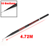 Black Burgundy Telescopic Fishing Rod 4.72M 10 Sections