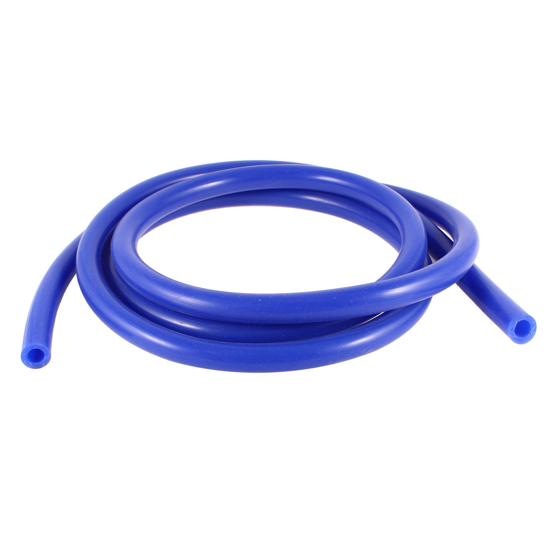 2 Meters Long 7mm Inner Dia Silicone Car Vacuum Hose Tubing Pipe Blue