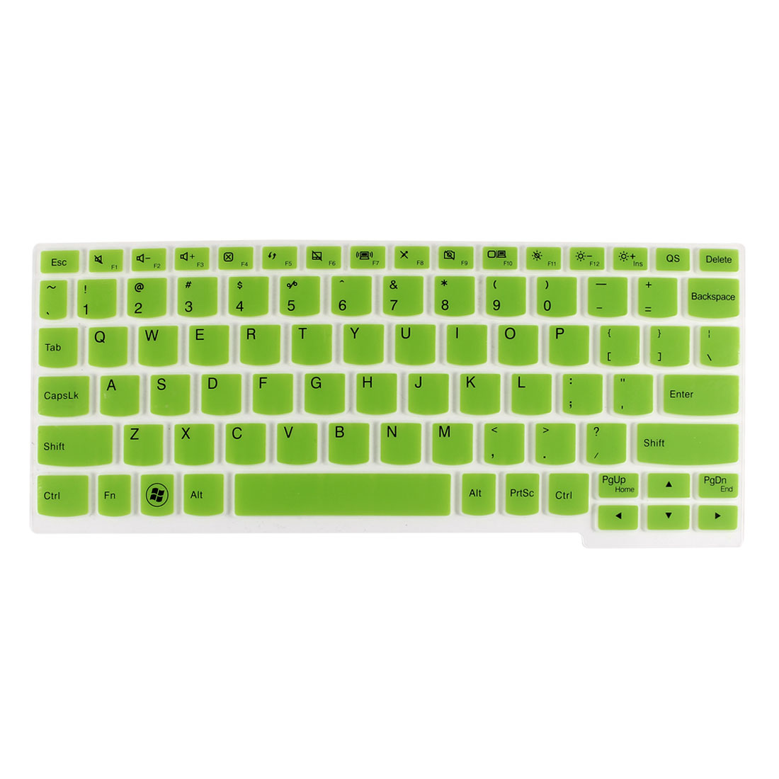 Laptop Keyboard Protector Film Cover Green Clear for Lenovo Ideapad S206/YOGA 11