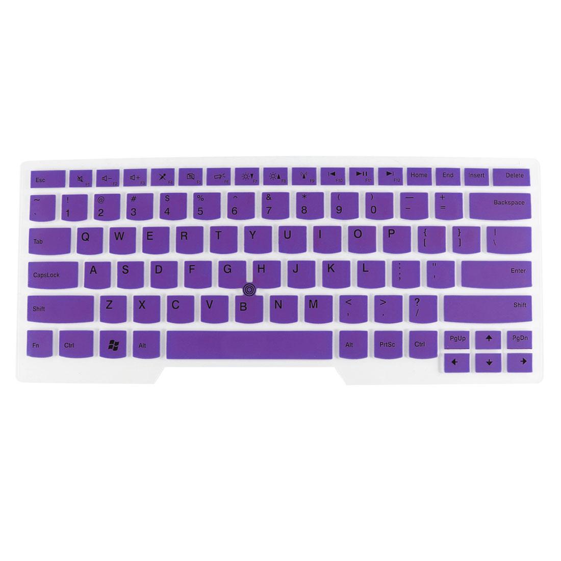 Laptop Keyboard Protector Film Purple Clear for IBM E430/E435/E330/T430/X230