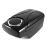 Universal Car Black Crocodile Pattern Plastic Armrest Storage Box Case