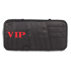 Retangle Black Nylon VIP Print Visor CD Ticket Cards Holder Storage for Car