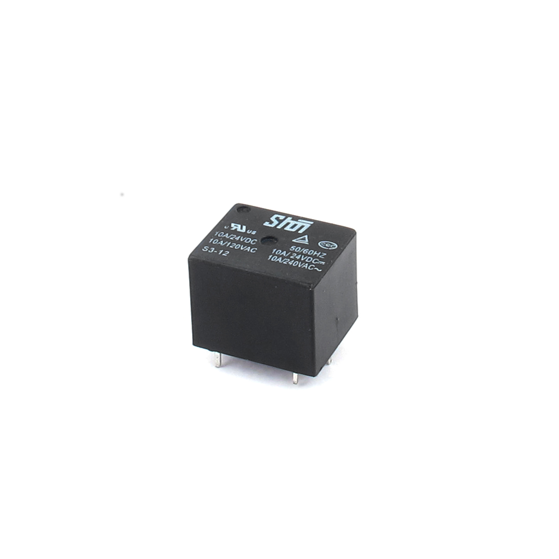 S3-12V DC 12V Coil Volt SPDT PCB General Purpose Power Relay