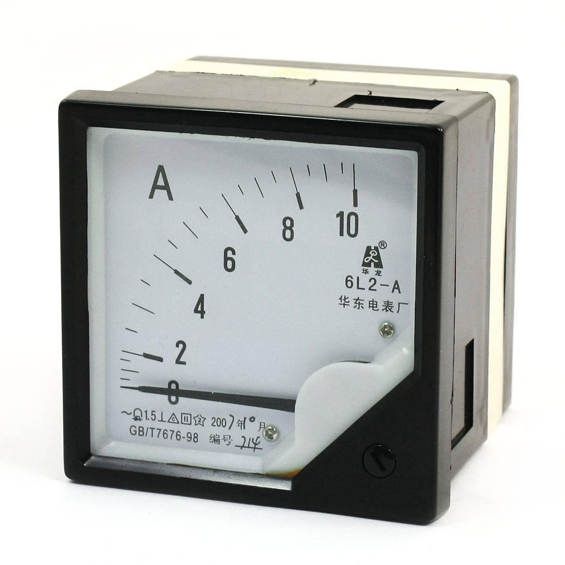 Square Panel AC 0-10A Analog Meter Ammeter Pointer 6L2-A