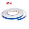 Self Adhesive Back Blue Safety Reflective Sticker Roller 80M Long for Car