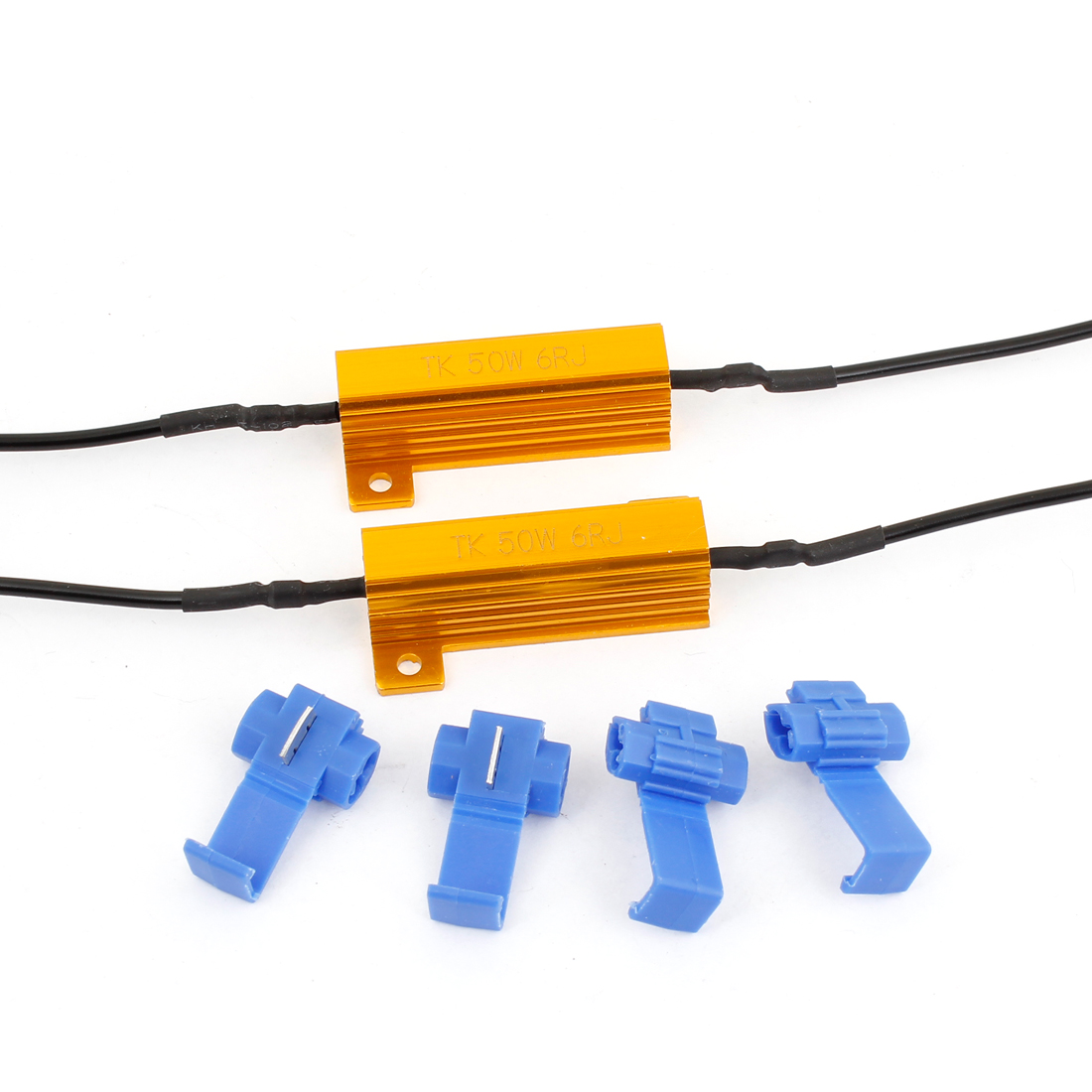 2pcs 6ohm 50W Led Load Resistor Turn Signal Brake