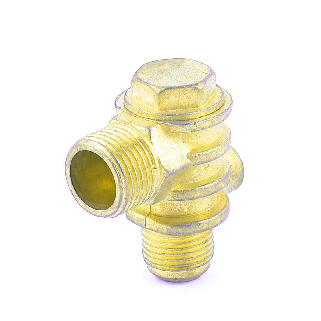 Replacement 1/8NPT Female 1/2NPT Male Thread Brass Air Compressor Check Valve